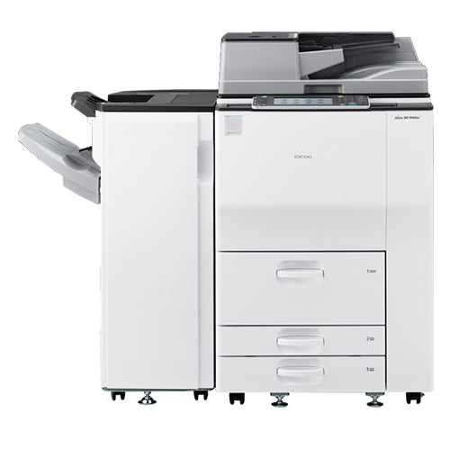 Ricoh MP 6002 Black and White Laser High-End FAST Printer Copier Color Scanner Only 25k Pages - Precision Toner
