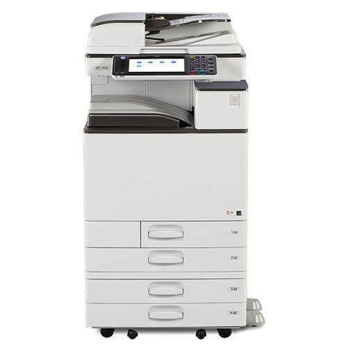 Ricoh MP C3003 Color Multifunction Laser Printer 11x17 12x18 Stapler REPOSSESSED Only 46k Pages Printed - Precision Toner