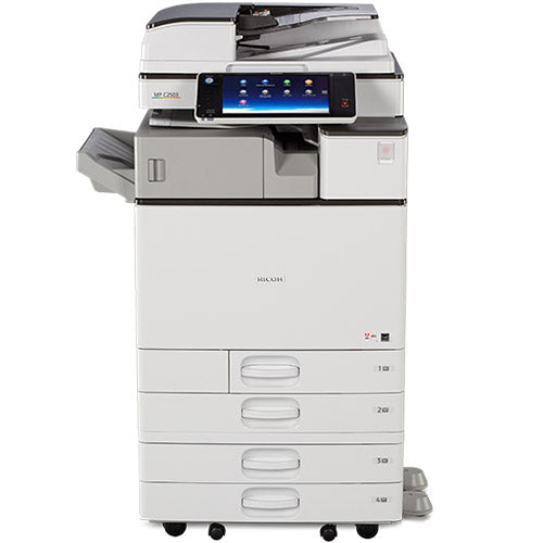 Only 42k Pages - Ricoh MP C3003 Color Copier Scanner Laser Printer 11x17 12x18 with Advanced Screen - Precision Toner