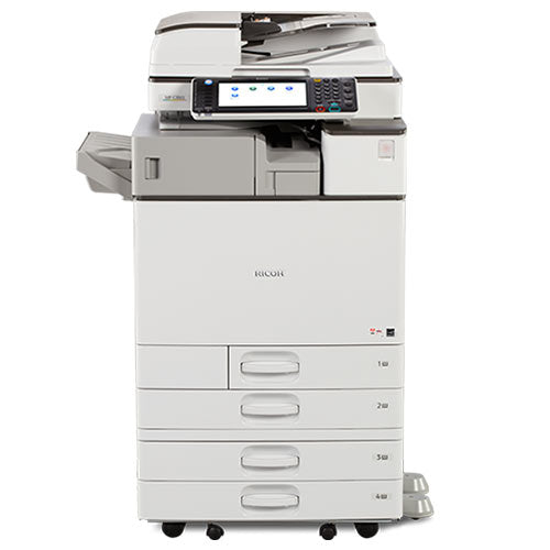 REPOSSESSED Ricoh Aficio MP C2003 Color Multifunction Printer 11x17 12x18 - Only 14k Pages printed - Precision Toner