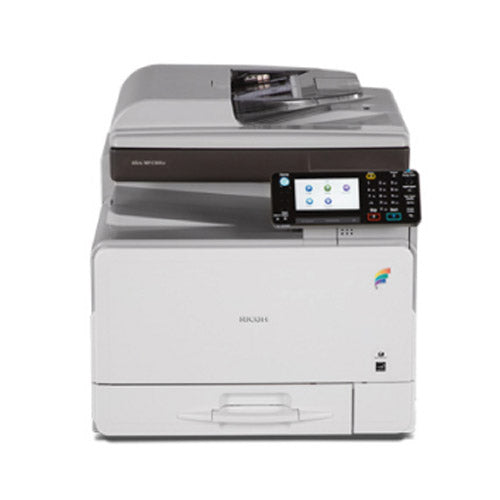 REPOSSESSED Ricoh MP C305spf C305 MFP Color Printer Copier Scanner Scan to Email - Precision Toner