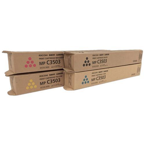 Genuine Ricoh 841814 Original Yellow Toner Cartridge (MP C3003 C3004 C3503 C3504)