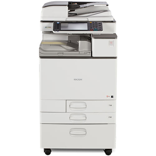 REPOSSESSED Only 11k Pages - Ricoh MP C3003 Color Copier Scanner Laser Printer Scan to Email 11x17 12x18