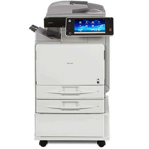 Ricoh MP C401 C401sp Color Multifunction Laser Printer - REPOSSESSED Only 53k Pages Printed - Precision Toner