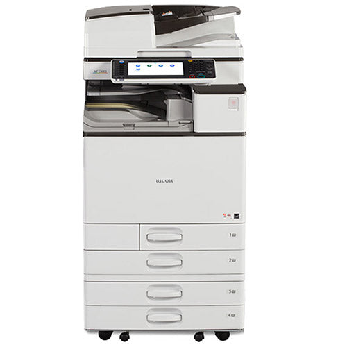 $149/month -Only 6k Pages Printed - Ricoh MP C4503 4503 Color Laser Multifunction Printer Copier Scanner 12x18 REPOSSESSED - Precision Toner