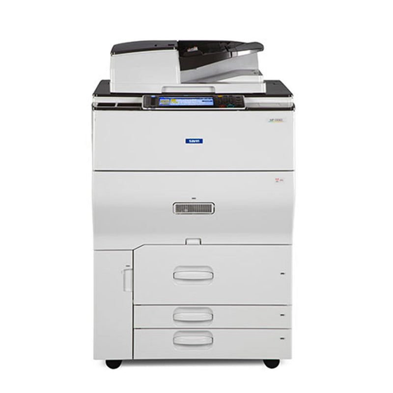 Ricoh MP C6502 6502 Color Laser High Speed 65 PPM Printer Copier Scanner Scan to Email 12x18 - Repossessed only 116k pages