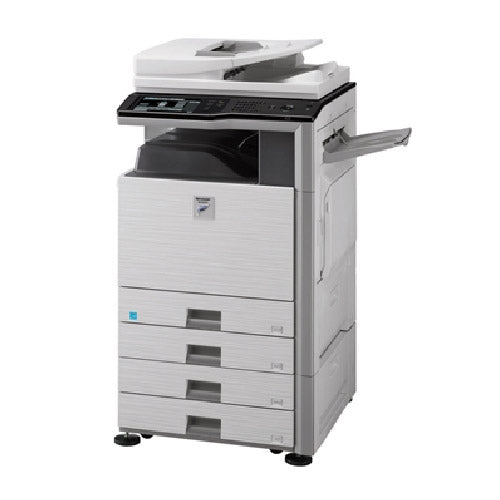 Sharp MX-M453N Black and White Laser Multifunction MFP Copier Printer Scanner 45PPM - Precision Toner
