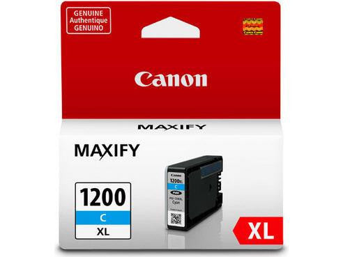 Canon PGI-1200XL OEM High Yield Cyan Ink Tank Cartridge (9196B001) - Absolute Toner
