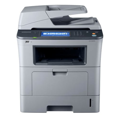 Samsung SCX-5835FN Monochrome Multifunction Laser Printer Copier Scanner Fax - With 2 FREE TONER - Precision Toner