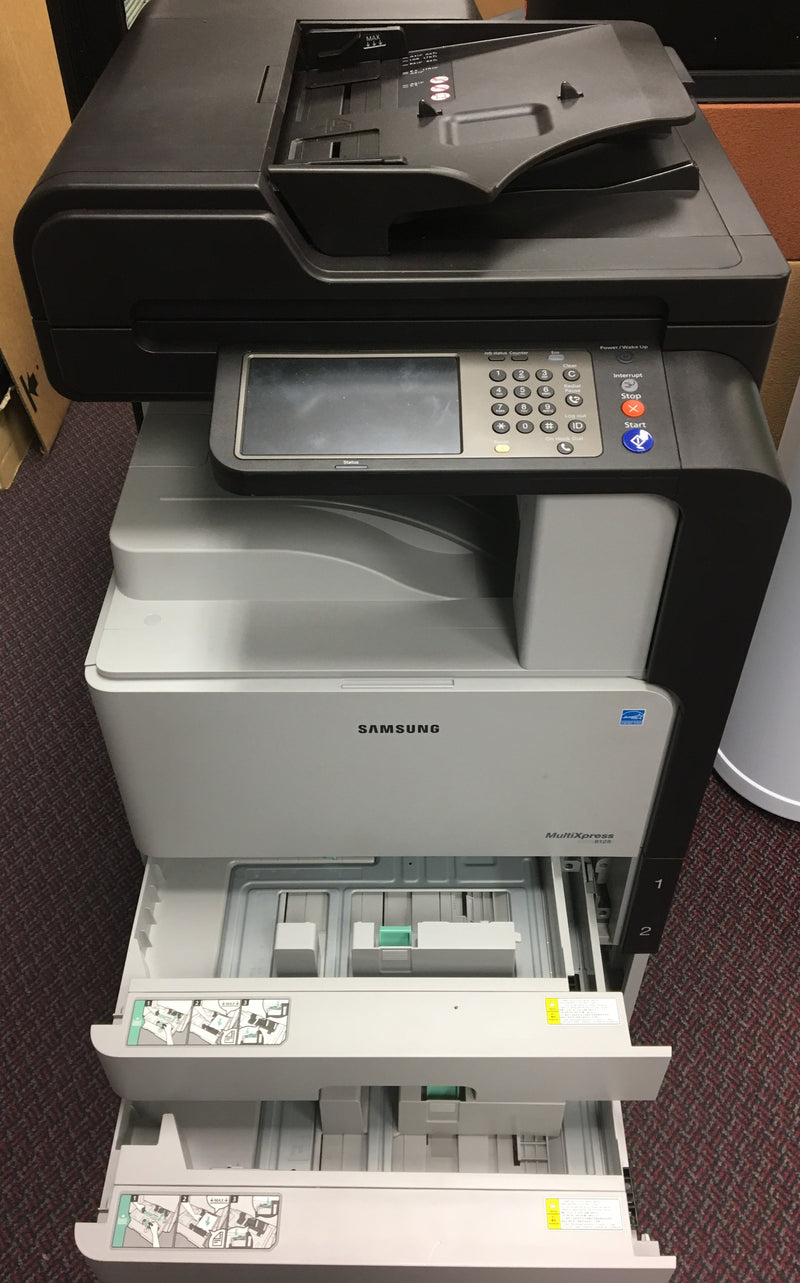Samsung SCX-8128NA 8128 Monochrome Printer Copier Scanner 11x17 REPOSSESSED only 4k Pages Printed - Precision Toner