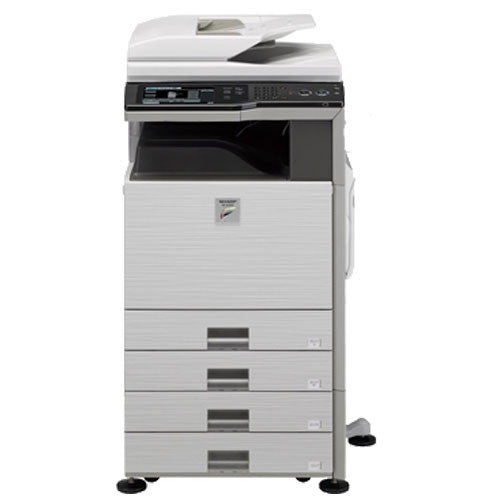 REPOSSESSED Sharp MX-2600N Color Copier Laser Printer Fax Printer Photocopier Copy Machine - Precision Toner