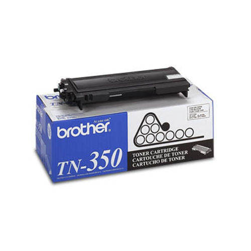 Brother TN-350 OEM Black Toner Cartridge
