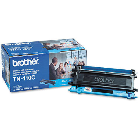 Brother TN-110C OEM Cyan Toner Cartridge (TN-110)