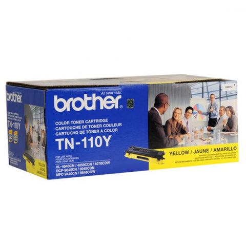 Brother TN-110Y OEM Yellow Toner Cartridge (TN-110)