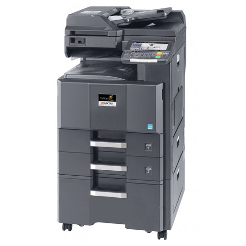 Kyocera TASKalfa 2550ci Compact Colour Multifunctional Copier Printer Scanner Fax 11x 17 - Precision Toner