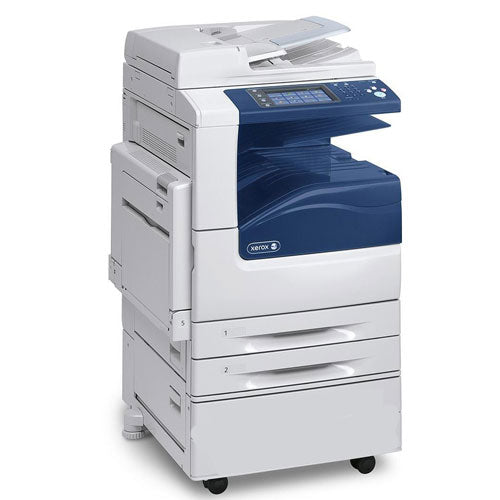 Xerox WorkCentre 7220 WC 7220i Color Multifunction Printer Scan 2 email - Repossessed ONLY 8K pages - Precision Toner