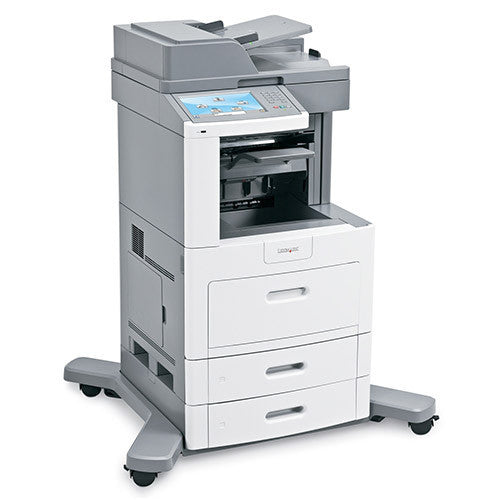 Lexmark XS658de Multifunction Laser Printer Copier Fax Scanner(promo) - Precision Toner