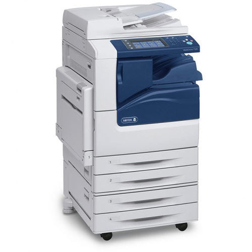Xerox WC 7125 WC7125 WorkCentre™ 11x17 color laser multifunction printer  Copy machine scanner network Photocopier