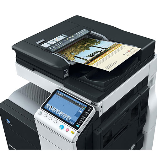 Konica Minolta Bizhub C224e 224 Color Copier Printer Scanner Fax 12x18 Multifunction Copy machine - Precision Toner