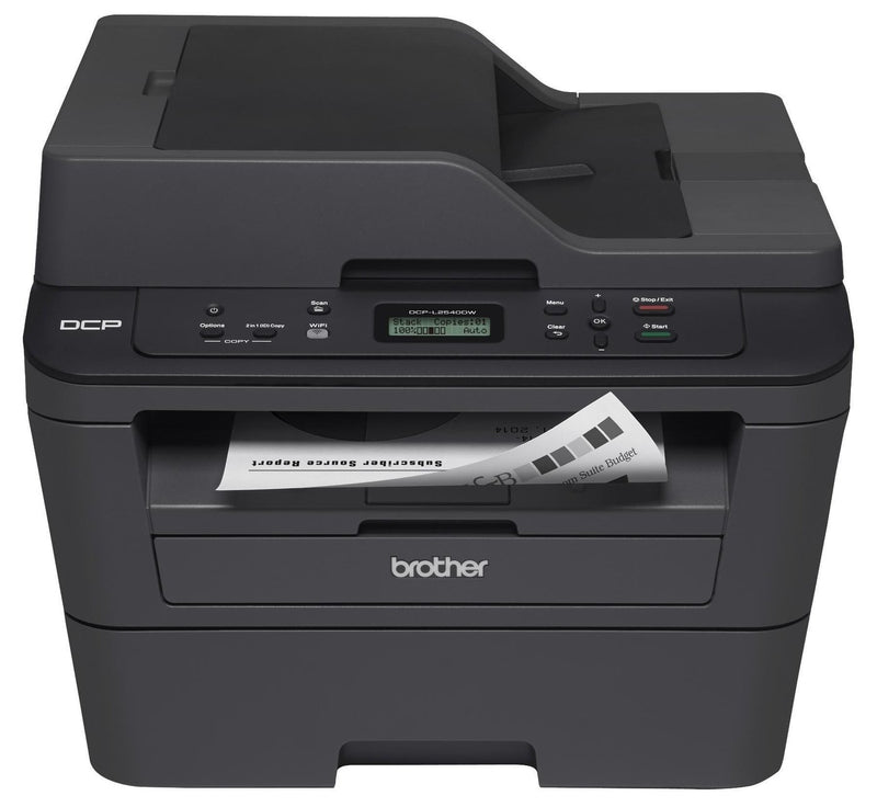 Brother DCP-L2540DW Monochrome Laser MFC Printer - Refurbished - Precision Toner