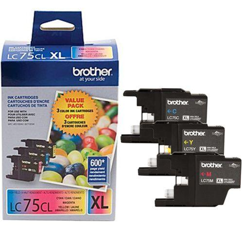 Absolute Toner LC753PKS INK CARTRIDGE COLOR PACK FOR MFCJ6510DW, MFCJ6710 Brother Ink Cartridges