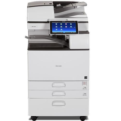 $ 75/Month New Repossessed Ricoh MP 3555 Black and White Laser Multifunction Printer - Precision Toner