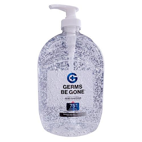 Absolute Toner From $16.99 *BIG PROMO X-LARGE (64 OZ) 1.9 Liter Germs Be Gone® 75% Alcohol, Aloe and Vitamin E Health CANADA Approved - GEL Hands Sanitizer Sanitizer