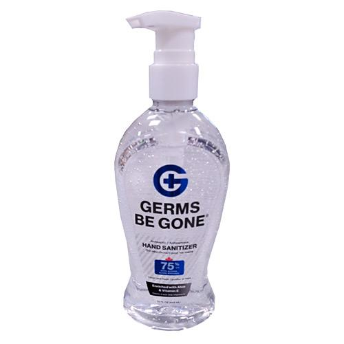 Absolute Toner From $6.95 (15 OZ) 443ml Germs Be Gone® 75% Alcohol, Aloe and Vitamin E Health CANADA Approved - GEL Hands Sanitizer Sanitizer
