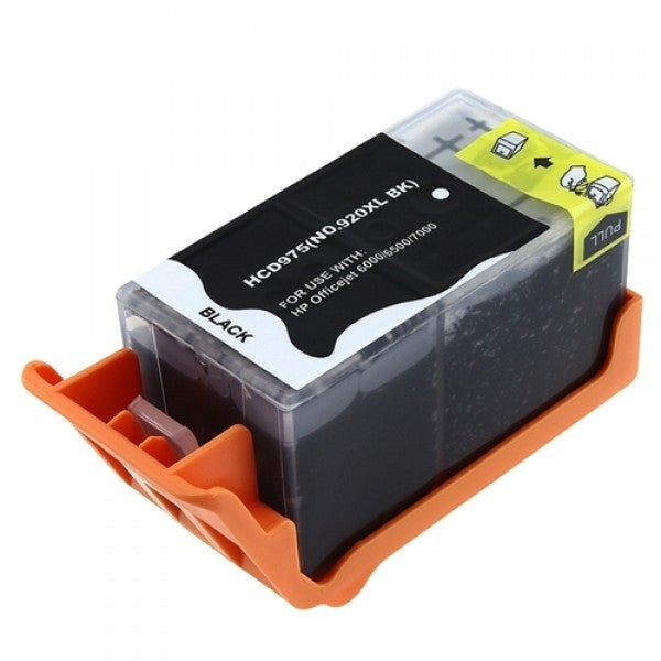Ink Cartridge Compatible with HP 920XL High Yield Black (CD975AN) - Precision Toner