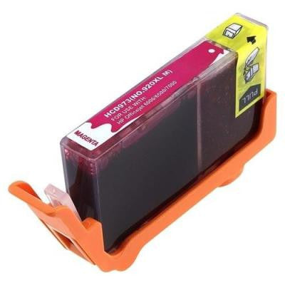 Ink Cartridge Compatible with HP 920XL High Yield Magenta (CD973AN) - Precision Toner