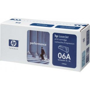 HP C3906A 06A Black Toner Cartridge (Open Box) - Precision Toner