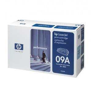HP C3909A 09A Black Toner Cartridge - Precision Toner