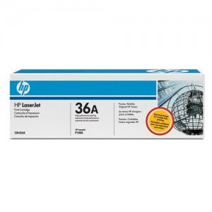 HP CB436A OEM Black Toner Cartridge (HP 36A) - Precision Toner