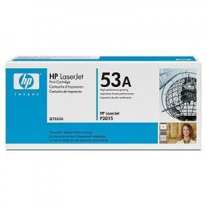 HP Q7553A OEM Black Toner Cartridge (HP 53A) - Precision Toner