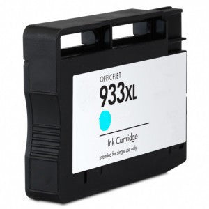 Ink Cartridge Compatible with HP 933XL High Yield Cyan (CN054AN) - Precision Toner