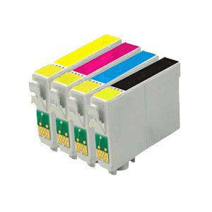 Compatible for Epson T124 Ink Cartridges Package of 4 - Precision Toner