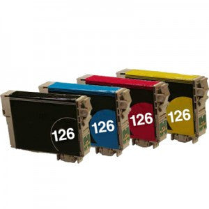 Compatible for Epson T126 Ink Cartridges Package of 4 - Absolute Toner