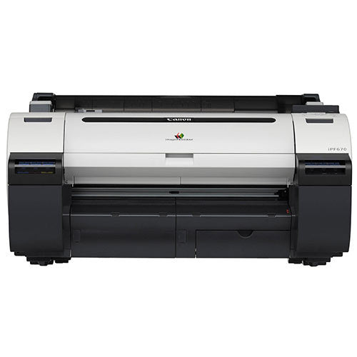 "Canon imagePROGRAF iPF670 Large Format Printer 24"" Brand NEW - Precision Toner"