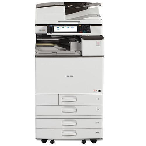 REPOSSESSED Ricoh MP C4503 4503 Color Laser Multifunction Printer Copier Scanner 12x18 - 61k Pages Printed - Precision Toner