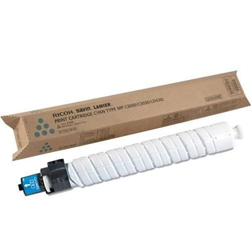 Genuine Ricoh 884965 Original Cyan Toner Cartridge (MP C2000, MP C2500, MP C3000) - Precision Toner