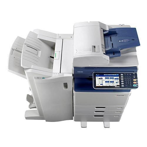 Toshiba e-STUDIO 3555c 3555 Color Copier With Finisher REPOSSESSED - Precision Toner