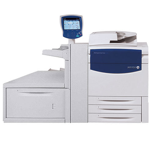 Only $365/month Xerox 770 Digital Color Press Production Print Shop Printer - AUTOMATIC DUPLEX UPTO 300 GSM