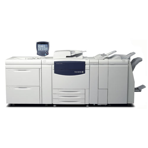 Xerox 700 700i Digital Color Press Production Print Shop Printer with booklet maker finisher Stapler LCT Paper Fold Hole Punch Fiery