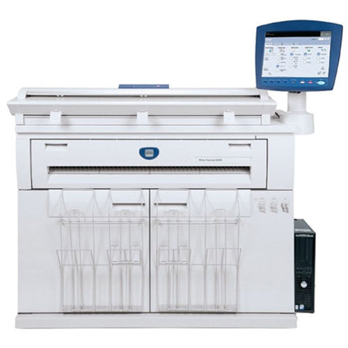 "36"" Xerox Wide Format 6605 Laser Multifunctional Engineering Digital Plan Printer B/W Print Colour Scan Demo Unit Only 14k Square Foot On meter - Precision Toner"