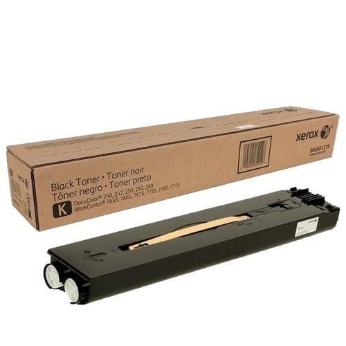 Xerox 6R1219 006R01219 OEM Black Toner Cartridge WorkCentre 7655 7665 7675 7755 7765 7775 DocuColor 240/250/242/252