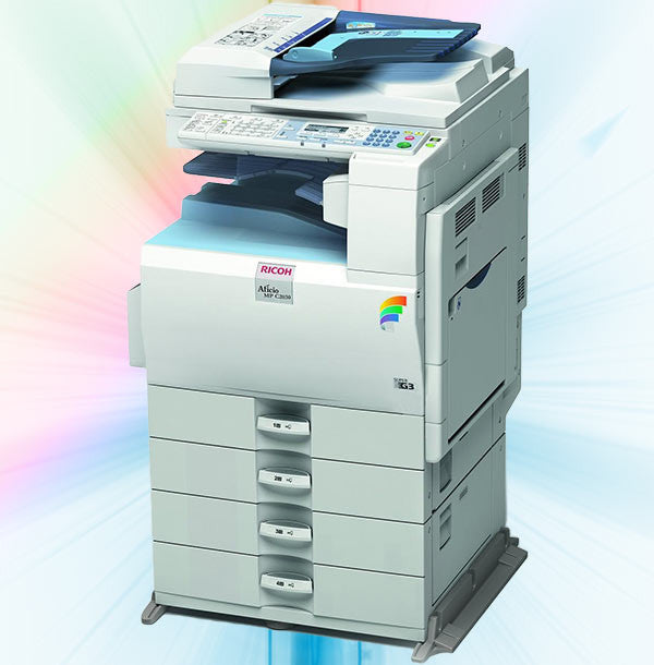Colour copiers used or new for prints requiring full range of colour
