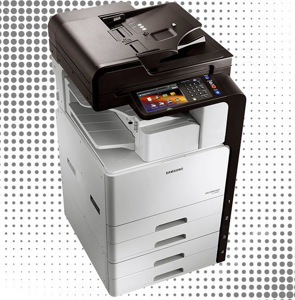 Monochrome copiers gently used or new for black & white printouts