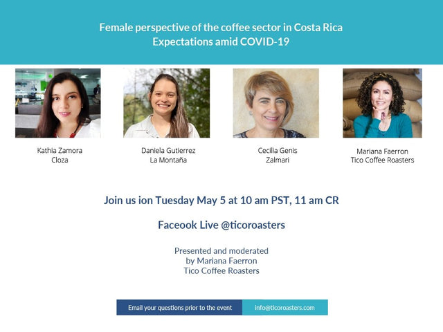 Female perspective of the coffee sector in Costa Rica - Expectations amid COVID-19