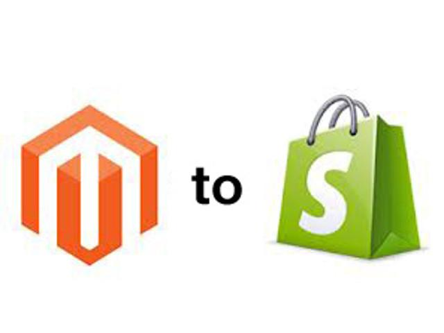 Moving from Magento to Shopify