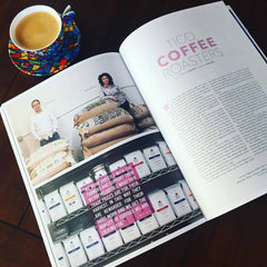 Tico Coffee Roasters in the Content Magazine Issue 8.2